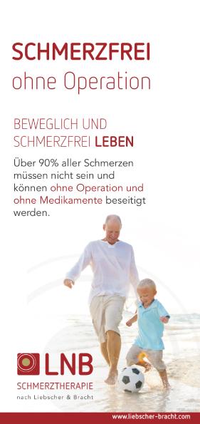 Titel_Flyer_LNB Liebscher und Bracht Schmerztherapie in Bremen